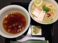 [赤坂][赤坂見附][溜池山王][永田町][ラーメン][つけ麺]澄んだスープと細麺による上品なビジュアルで第1位を獲得したつけ麺