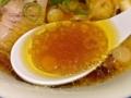 [赤坂][赤坂見附][溜池山王][永田町][ラーメン][つけ麺]比内地鶏の丸鶏とガラ、不純物ゼロの超純水だけで旨みを抽出した出汁