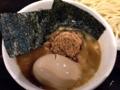 [新宿][ラーメン][つけ麺]得製と謳うだけに味玉+のり、メンマ、ねぎ、チャーシュー増量