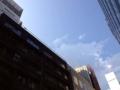 [銀座][銀座一丁目][建築]不思議と青空がいつもより青く見えた