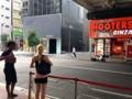 [銀座][新橋][ラーメン][チャーハン][餃子]帰り道、外国人がフーターズを撮影してるのにもちょっと和んだ
