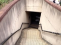 [東京大学][大学][本郷][ラーメン][定食・食堂][漫画][孤独のグルメ]安田講堂手前の広場にある地下中央食堂への階段