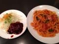 [吉祥寺][洋食][パスタ][カフェ・喫茶店][居酒屋][ドラマ][孤独のグルメ]大盛りにしたからかナポリタンは直径30cmくらいのデカ皿に