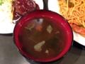 [吉祥寺][洋食][パスタ][カフェ・喫茶店][居酒屋][ドラマ][孤独のグルメ]濃い色の味噌汁もダシがしっかり感じられてナイス