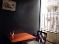 [麻布十番][菓子][たいやき][焼きそば][カフェ・喫茶店][甘味処]この店唯一の喫煙スペース&席数が少ないテラス席