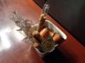 [麻布十番][菓子][たいやき][焼きそば][カフェ・喫茶店][甘味処]意外と豪快に盛られたカスターセット