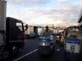 [築地][築地市場][ラーメン]ターレットトラックを見ると市場に来たなーって実感します