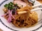 びよーんと細麺です。並盛りだと180g