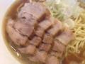 [赤羽][ラーメン]商品名は比内鶏肉そばですが豚肉です