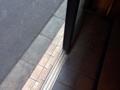 [日本橋][ラーメン][支那そば][カレー][洋食]入店してもちょっとした段差が