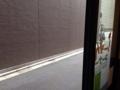 [日本橋][ラーメン][支那そば][カレー][洋食]すぐ後ろを通り過ぎる人