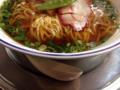 [日本橋][ラーメン][支那そば][カレー][洋食]レンゲは敷皿の上に乗せての提供