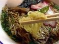 [日本橋][ラーメン][支那そば][カレー][洋食]中細縮れ麺は個人的にもっとコシが強いのウェルカム!
