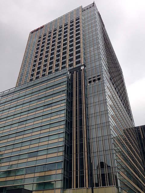 2007年開業とはいえ早くも六本木の顔と言える東京ミッドタウン