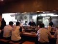 [六本木][乃木坂][ラーメン]厨房を取り仕切る大将は、初めて訪れた1990年代から白髪だったかも