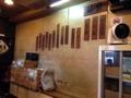 [六本木][乃木坂][ラーメン]開店時から取り替えてないであろう味のある木札