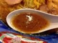 [六本木][乃木坂][ラーメン]一見味噌スープのように見えますが醤油です