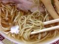 [八王子][ラーメン]見た目に反して並盛りでもしっかりとした量の麺