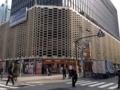 [新橋][洋食][パスタ]外壁が印象的な1971年竣工のニュー新橋ビル