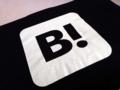 [はてな][はてなブックマーク][Tシャツ]胸元部分に「B!」のみ、潔すぎるデザイン