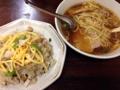 [早稲田][ラーメン][チャーハン][洋食][定食・食堂]490円のチャーハンもオーダーして王道の組み合わせを実現