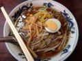[早稲田][ラーメン][チャーハン][洋食][定食・食堂]420円のもやしそばはあんかけ風ではなく単にもやしが増量する仕様