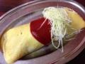 [早稲田][ラーメン][チャーハン][洋食][定食・食堂]貫禄すら漂うケチャップと千切りキャベツ