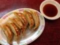 [東小金井][ラーメン][油そば][餃子]ニンニクがビシッときいたオールドファッションな餃子(400円)