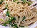 [東小金井][ラーメン][油そば][餃子]細すぎず太すぎず、絶妙な太さの中太ストレート麺