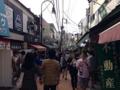 [谷中][日暮里][千駄木][いか焼き]本当に食べ歩きする方々で賑わう谷中銀座商店街
