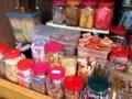 [雑司が谷][目白][池袋][鬼子母神][寺院][菓子]実に種類豊富な駄菓子類