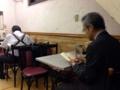 [日本橋][ラーメン][チャーハン][中華]あえてランチタイムを外しての訪問だったからか、年配の男性客が多め