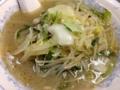 [桜木町][日ノ出町][ラーメン][餃子]具は安定の白菜、もやし、ニラ、豚肉