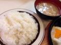 [大山][洋食][定食・食堂][漫画][孤独のグルメ]ライスとこの手の定食物にはお約束な豚汁