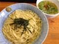 [四谷三丁目][ラーメン][つけ麺]モチモチ麺とまろやか塩スープの組み合わせ!「灯花」の淡麗塩つけ麺