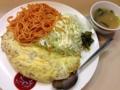 [新橋][洋食][パスタ][カレー]個人的にオムライスより好きかもしれないオムドライ700円