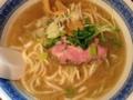 [東十条][ラーメン]魚介豚骨醤油スープと自家製麺が相性抜群な「燦燦斗」のラーメン
