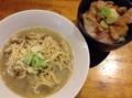 [赤羽][ラーメン][丼もの]明らかに濃いと分かる「自家製麺 伊藤」の中華そば&チャーシュー丼