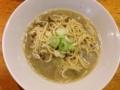 [赤羽][ラーメン][丼もの]素人目で見ても煮干しをふんだんに使っていることが明らかな中華そば