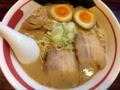 [鶯谷][入谷][ラーメン]臭みのないクリーミー鶏豚骨スープ!「ラーメン長山」の醤油ラーメン