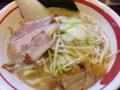[鶯谷][入谷][ラーメン]白味噌とも好相性な鶏豚骨スープ!「ラーメン長山」の味噌ラーメン