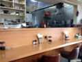[千駄木][谷中][日暮里][洋食][パスタ][焼きそば][定食・食堂]外に負けず劣らずシブいオーラをビンビンに醸し出す店内