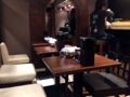 [銀座][東銀座][ラーメン]まるでカフェのようなカウンター席&テーブル席がお出迎え