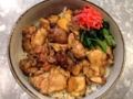 [新橋][ラーメン][丼もの]岩手の銘柄鶏「あべどり」を使用したランチ限定の焼き鳥丼