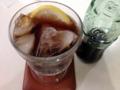[千駄木][谷中][日暮里][洋食][パスタ][焼きそば][定食・食堂]やっぱり瓶のコーラってペットボトルよりおいしいよなー