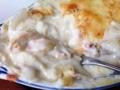 [千駄木][谷中][日暮里][洋食][パスタ][焼きそば][定食・食堂]焼けたチーズとクリームソースにエビの食感、じんわりと広がる優しさ