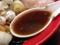 口にする前から絶対に濃い&しょっぱいと分かる醤油スープ