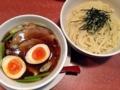 [湯島][ラーメン][つけ麺]秋田の稲庭うどんをイメージした仕上がりの醤油もりそば(太麺)