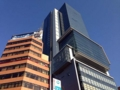 [渋谷][焼きそば]2012年3月竣工の渋谷ヒカリエはニョキニョキそびえ立つ