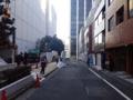 [渋谷][焼きそば]土日祝日の昼下がりともなればお店周辺の人気はほぼ皆無